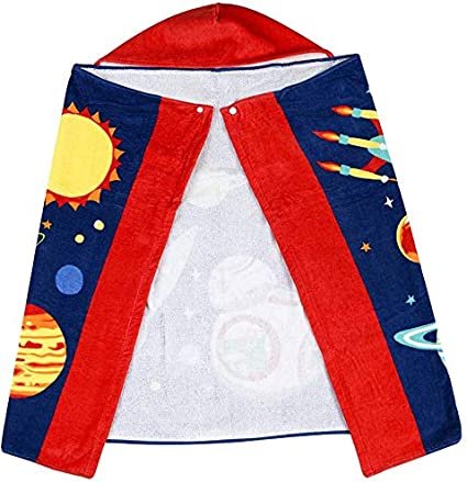 127cm Kids Hooded Swim Beach Bath Towel 100/% Cotton Cover-ups Cape Suitable for 3 to 8 Years Old Girls//Boys 76 Crocodile