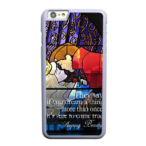 Coque,Coque iphone 6 6S 4.7 pouce Case Coque, Sleeping Beauty Castle Inside Cover For Coque iphone 6 6S 4.7 pouce Cell Phone Case Cover blanc