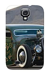 For Galaxy S4 Protective Case, High Quality For Galaxy S4 Ford Rat Rod Skin Case Cover