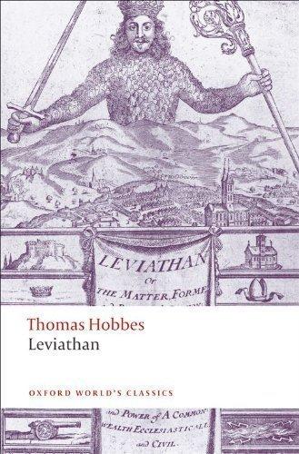Leviathan by Thomas Hobbes (Oct 11 2008)