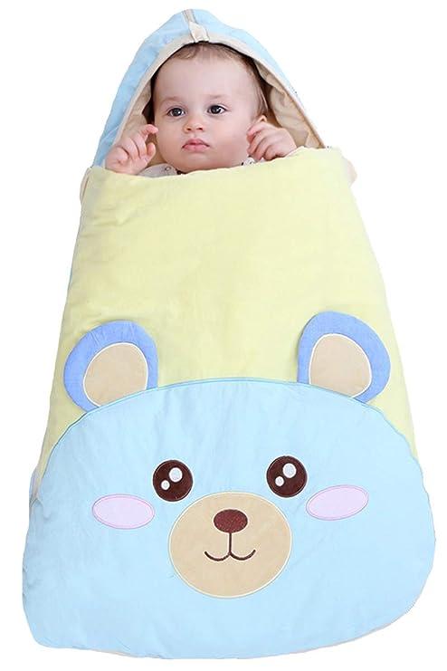 ShineGown - Saco de dormir para bebé recién nacido, cálido, con cremallera de 2