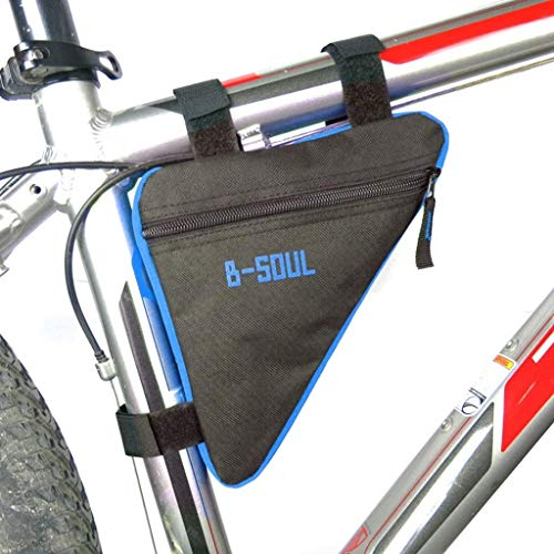 Ttkgyoe Bike Bicycle Triangle Bag,Sport Bicycle Front Frame Triangle Bag Cycling Bike Tube Pouch Holder Saddle Panniers…