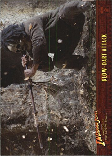 2008 Indiana Jones and the Kingdom of the Crystal Skull #46 Blow-Dart (Dart Crystal)