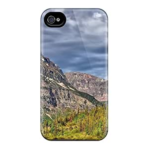 R. Steven QzF613GYKT Protective Case For Iphone 4/4s(fantastic Mountain Lscape Hdr)