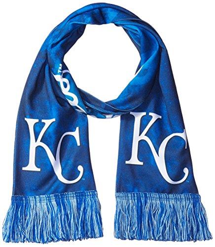 Wordmark Scarf (MLB Kansas City Royals Unisex Wordmark Printed Scarf, Adult)