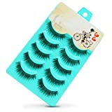 False Eyelashes, PrettyMakeUp 5 Pairs Black Long Thick - Best Reviews Guide