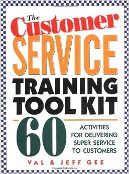 Customer service training activity?