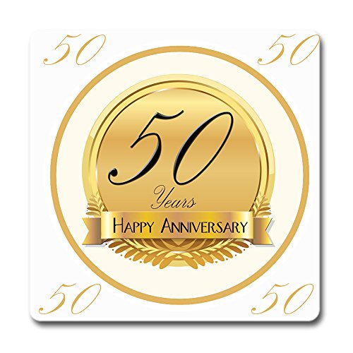 - Partypro 50TH Anniversary Coaster (12CT)