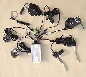 36V//48V 500W 6Mosfets 20A Brushless DC Sine Wave Controller for bafang motor