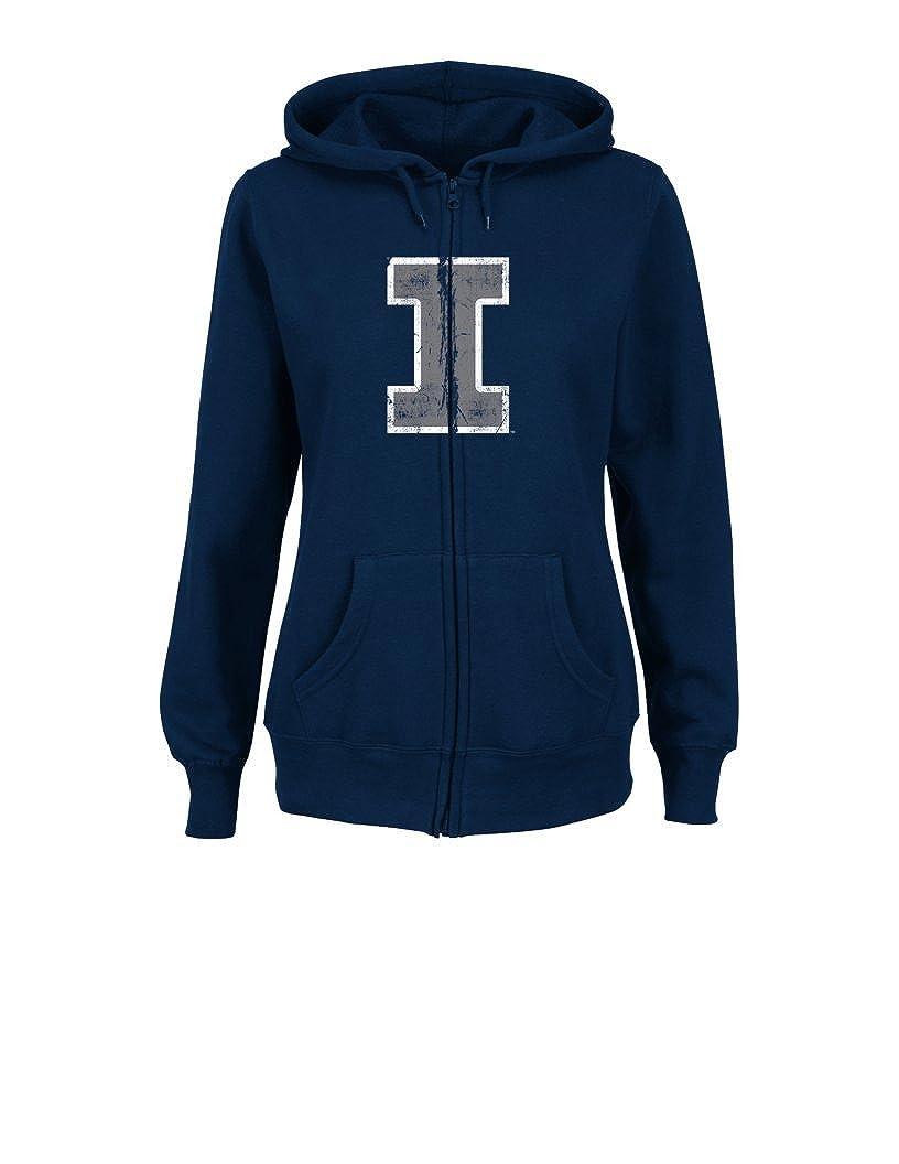VF LSG NCAA Womens Sudden Victory Long Sleeve Full Zipper Fleece Hoodie