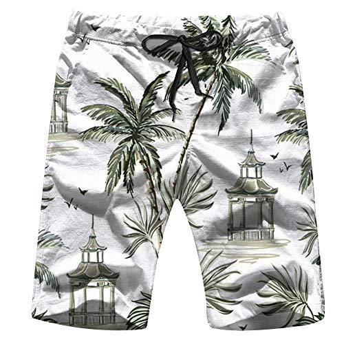 Cool pillow Halloween Girls Boys Mens Beach Pants 3D Printed Casual Fashion Adjustable Beach Board Shorts L]()
