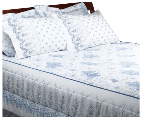 Laura Ashley Sophia Collection Queen Comforter Setquilts