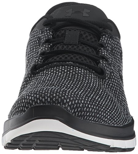 Compétition Chaussures W Femme Under de Fw18 Running UA Noir Steel Remix Armour Black ZSW4SO