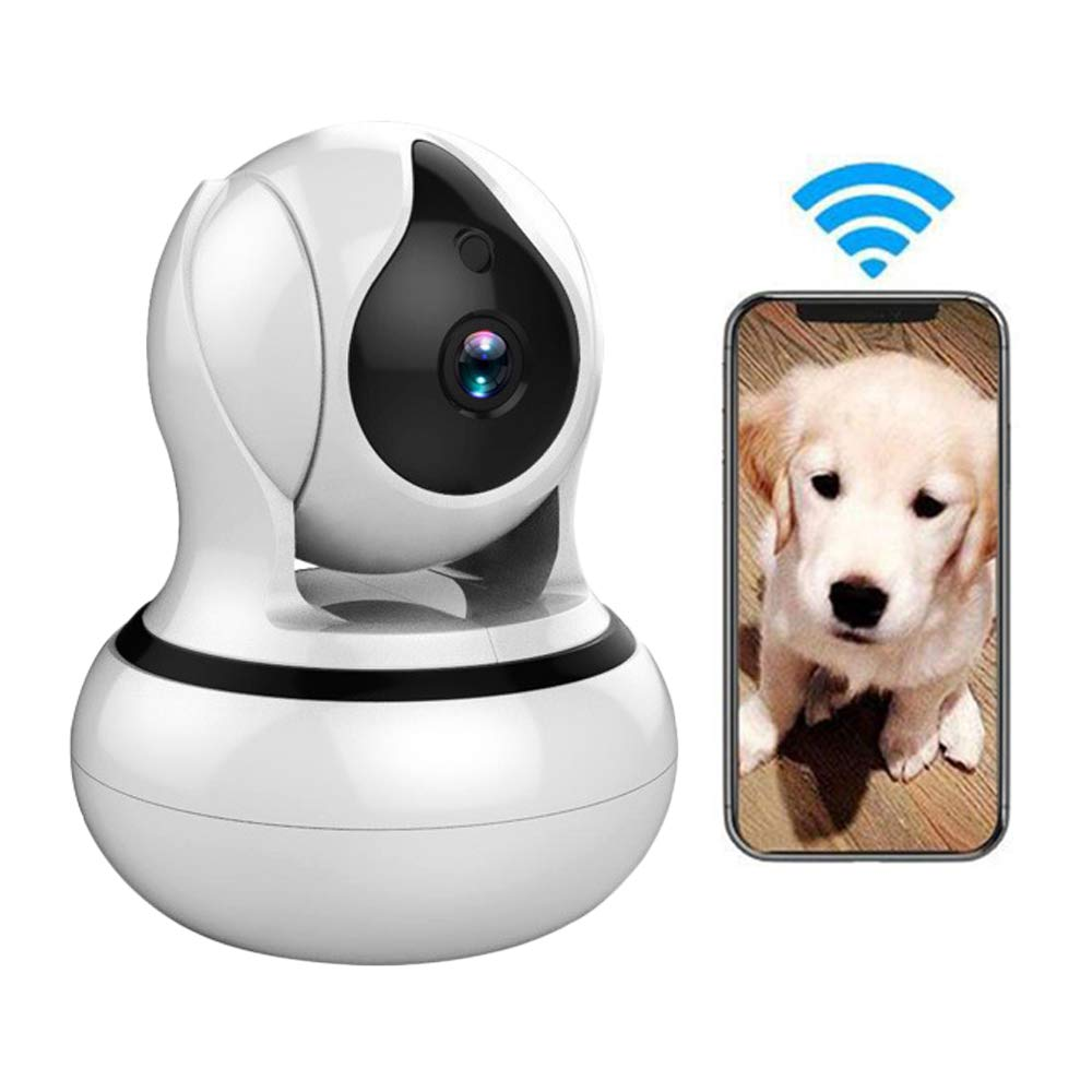 1080p LEERAIN HD Pet Ip Camera, Wireless Dog Monitor, Security Camera, Motion Detection Night Vision Two-way Audio For Baby Dog Cat,1080p
