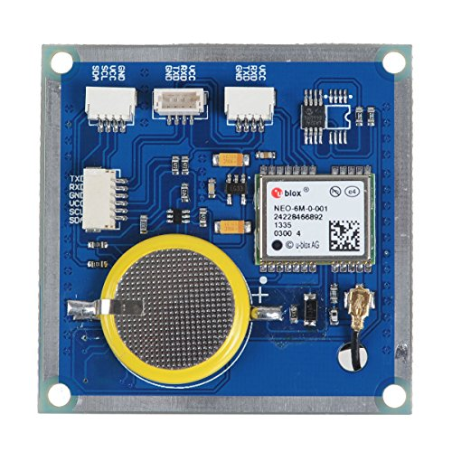 OLSUS Flight Controller Ublox GPS Module and Compass Module with Built-in Ceramic Antenna - Blue + White by OLSUS