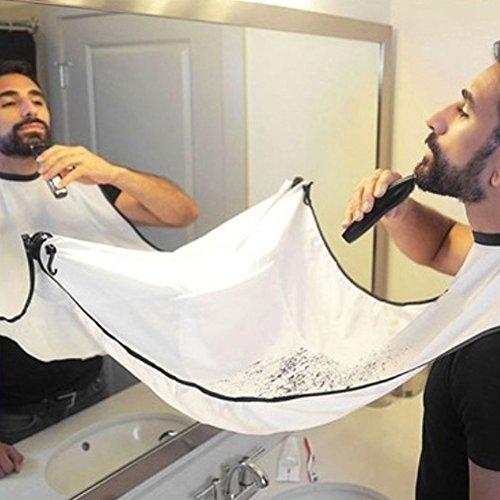 Price comparison product image Premium Beard Apron Beard Catcher, Shaving Aprons Beard Beard Bib & Facial Hair Catcher, Perfect Gift for Men( Random Color)