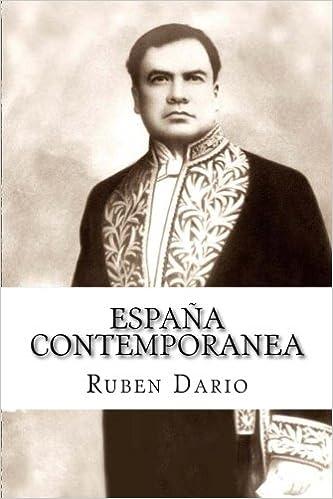 España contemporanea: Amazon.es: Dario, Ruben: Libros en idiomas extranjeros