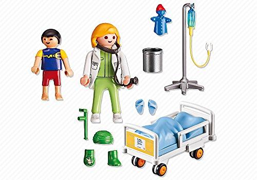 PLAYMOBIL - Doctor con niño (66610) 6