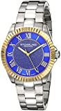 Stuhrling Original Women's 743.03 Vogue Audrey Shimmer Quartz Gold Tone Stainless Steel Bracelet Watch