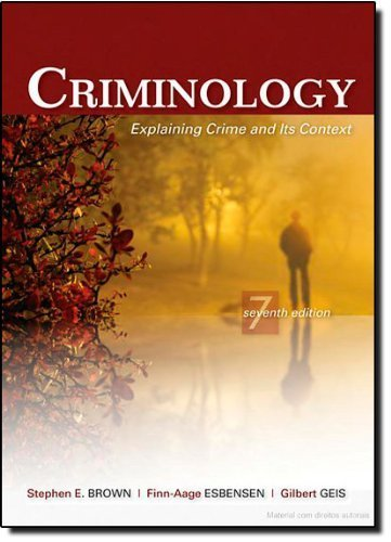 explaining crime Criminology: criminology, scientific study of the nonlegal aspects of crime and delinquency, including its causes, correction, and prevention, from the viewpoints of.