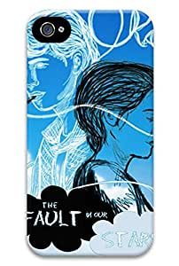 Online Designs fault in our stars smoke PC Hard new iphone 4 case for men