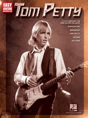 Tom Petty: Easy Guitar with Notes & Tab