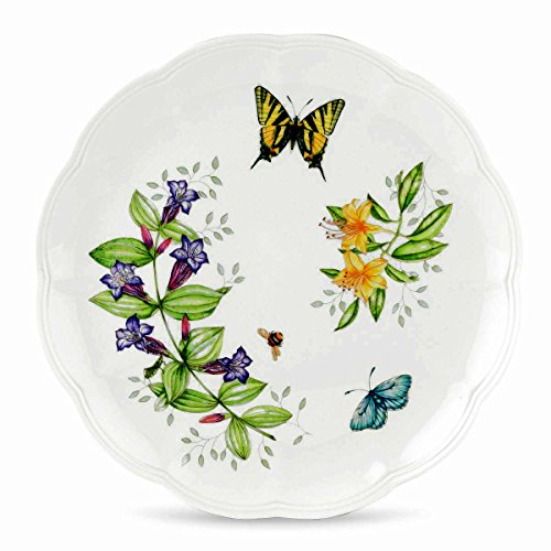 Tiger Pattern Plate (Lenox Butterfly Meadow Tiger Swallow Tail Dinner Plate)