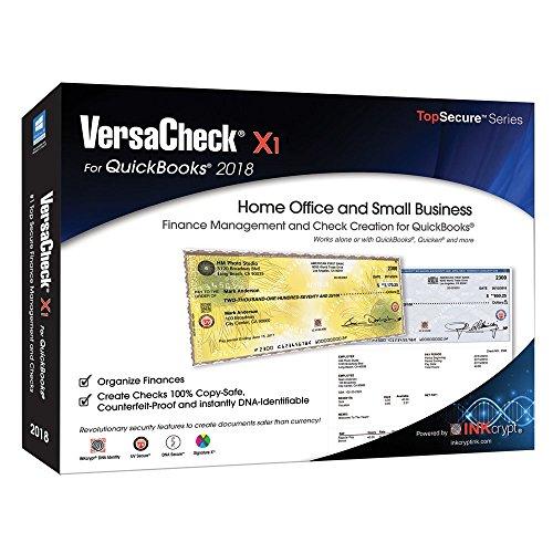 Price comparison product image VersaCheck X1 2018 for QuickBooks