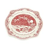 """Johnson Brothers Dishwasher/Microwave Safe """"Twas the Night 12"""" Oval Platter"""