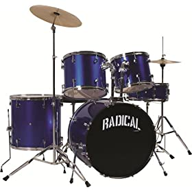 Cannon RAD5MB 4-Piece Drum Set 2