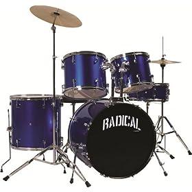 Cannon RAD5MB 4-Piece Drum Set 9