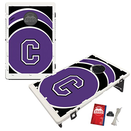 Cornell College Rams Baggo Bean Bag Toss Cornhole Game Vortex Design by Victory Tailgate