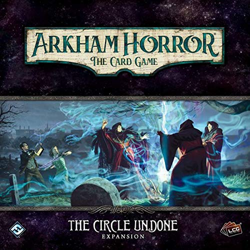 Fantasy Flight Games Arkham Horror LCG: The Circle Undone Expansion - http://coolthings.us