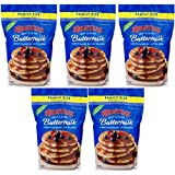 Krusteaz Pancake Mix, Complete, Buttermilk 5 lb (5Pack)