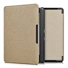 kwmobile Flip cover case for Kobo Glo HD (N437) / Touch 2.0 - imitation leather foldable case in gold