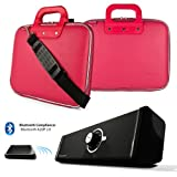 Faux Leather Cube Briefcase For HP Pavilion 11 X2 | HP ENVY X2 11.6-inch Tablet + Bluetooth Speaker