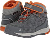 Jack Wolfskin Unisex-Kids Portland Texapore Mid K Sneaker, Orange Crush, US Little Kid's 12.5 M US Little Kid