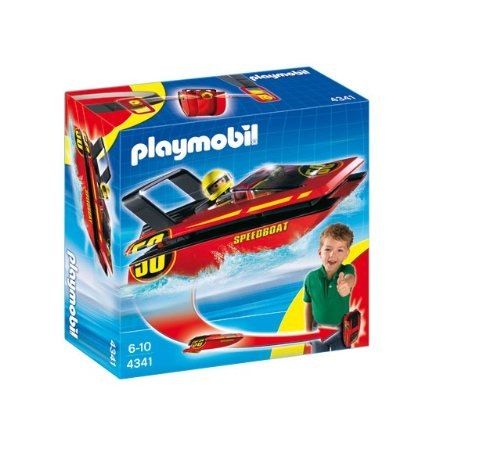 Playmobil 4341 Speed Boat to Go (Playmobil Swimming Pool Best Price)