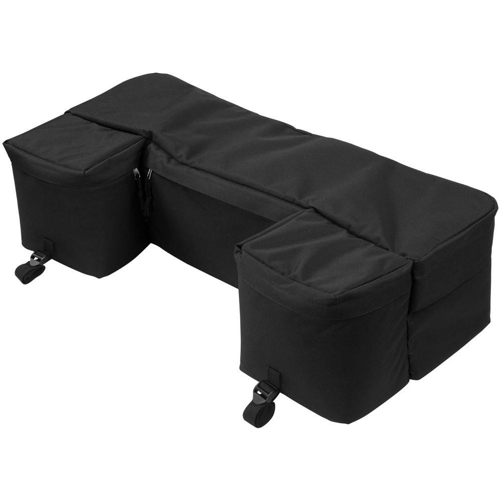 Rage Powersports Black ATV Rack Rear Utility Pack