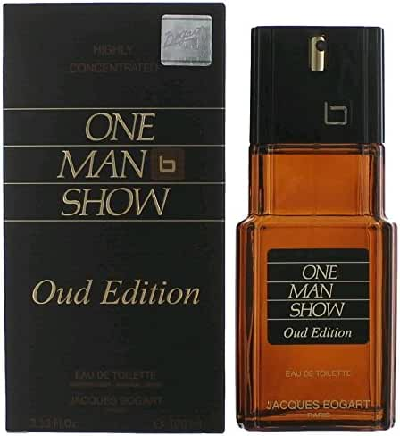 Jacques Bogart One Man Show for Men Eau de Toilette Spray, Oud Edition, 3.33 Ounce