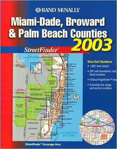 Miami Dade Broward Palm Beach Counties Streetfinder Rand Freebooks