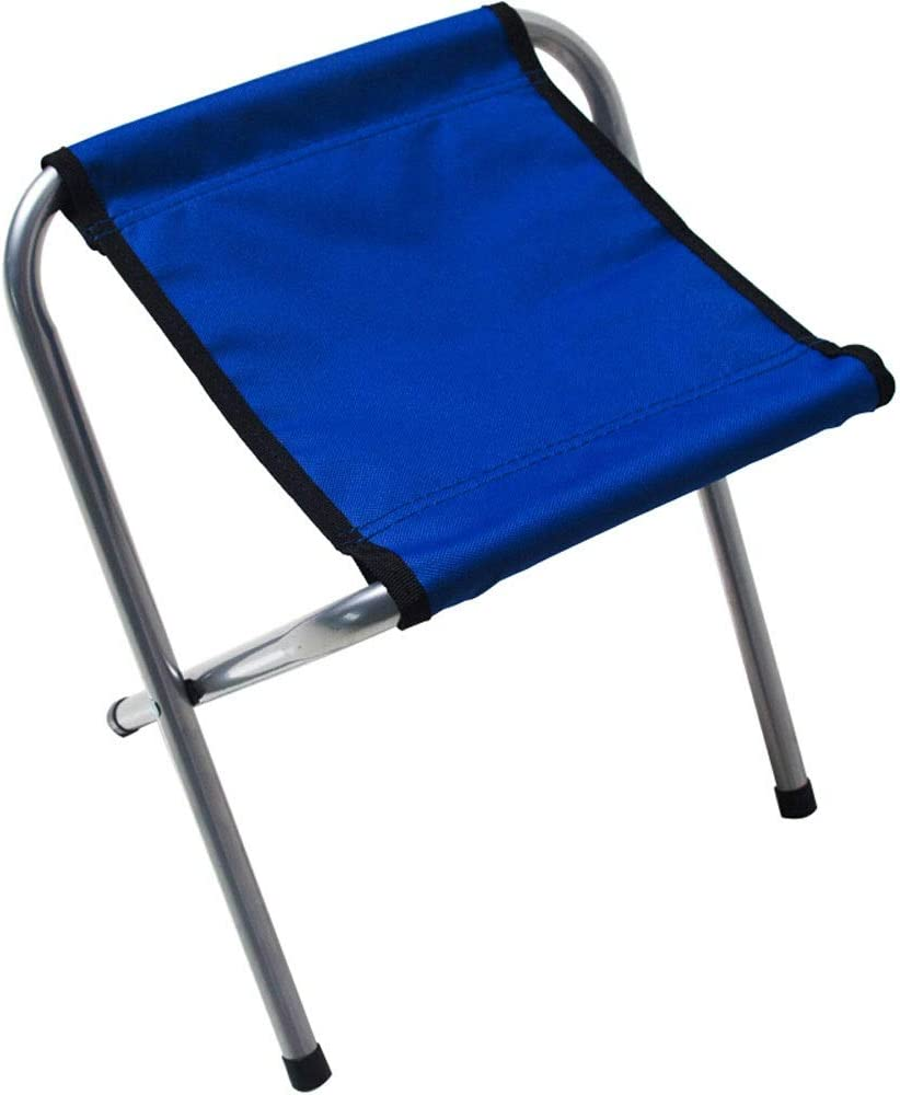Outdoor Portable Folding Stool Leisure Slack Lightweight Stool Chair Heavy Duty Camping Fishing Hiking Picnic Garden BBQ Chair Mountaineering Travel House-Using Recreation