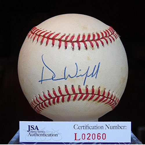 Dave Winfield Signed Baseball - Cert American League Authentic - JSA Certified - Autographed - Dave Memorabilia Winfield