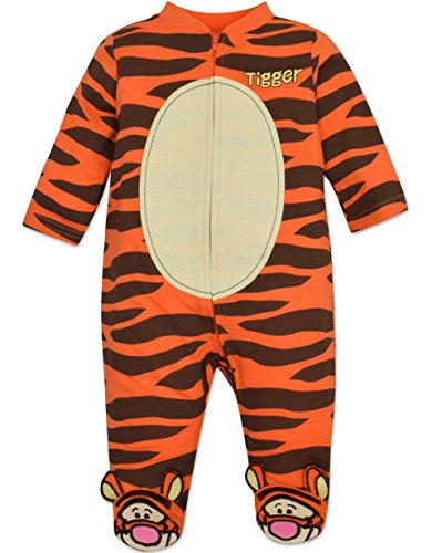 Tigger Costume Coverall with Footies Baby Boy (6-9 Months) (Baby Tigger)