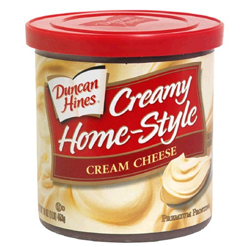 Duncan Hines Creamy Home-Style Premium Frosting, Cream Cheese , 16 oz (1 lb) 453 g