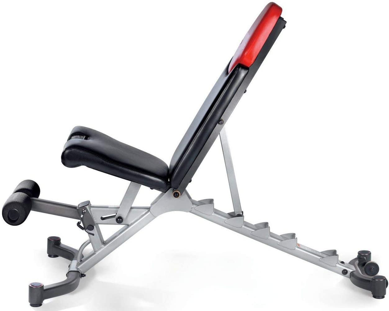 Mach7 5.1 Adjustable Bench 5 in 1 Transform any space into a personal free weight fitness center.