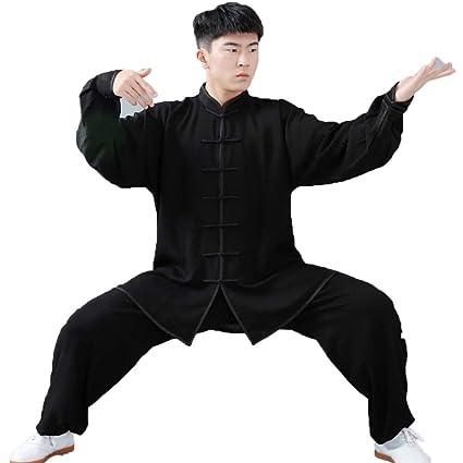 fwadu Tai Chi Ropa Hombre Mujer Clásico Tai Chi Traje Artes ...