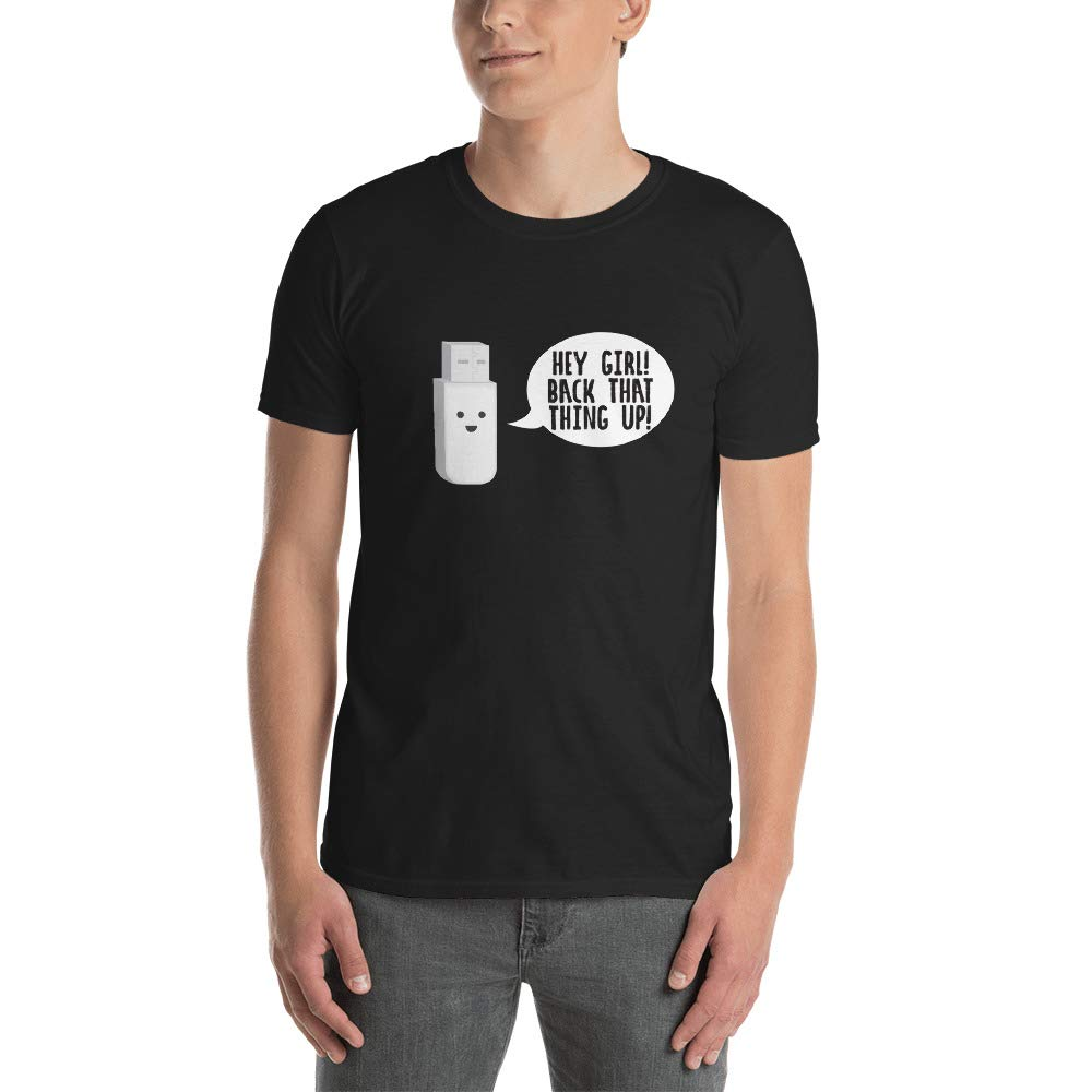 This Is Just Genius Computer Short Sleeve Unisex T Shirt M56