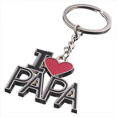 SODIAL Llavero (R), diseño con texto I Love PAPAP, llavero ...