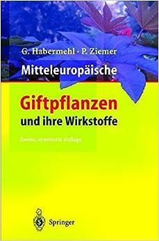 Book Mitteleuropäische Giftpflanzen und ihre Wirkstoffe
